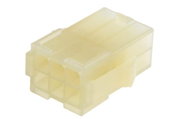 Product image for 6w Socket Natural UL 94 V-2