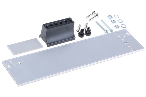 Product image for Std aluminium card front panel,3Ux6HP