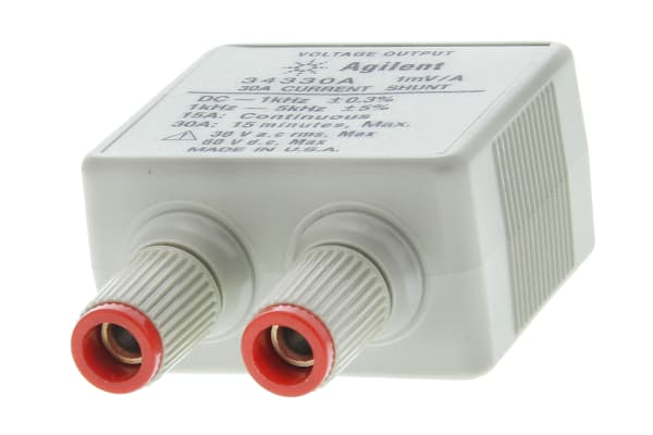 Product image for AGILENT 34330A CURRENT SHUNT, 30A