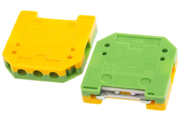 Product image for Earth terminal for 15mm rail