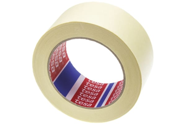 Product image for Tesa 4323 Beige Masking Tape 50mm x 50m