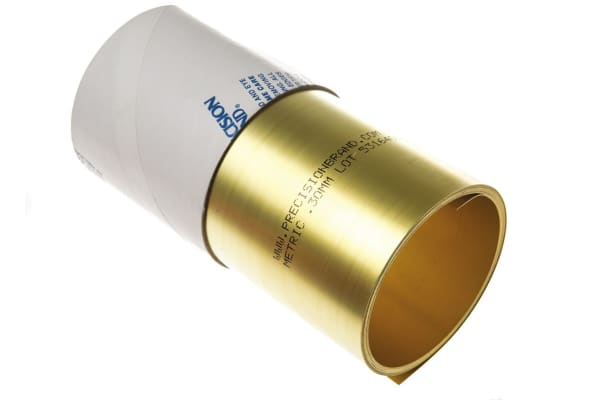 Product image for 0.30mm BRASS SH 150X2.5mt