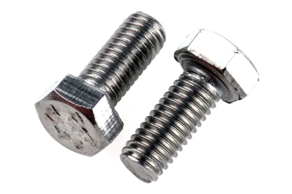 Product image for A2 s/steel hex head set screw,M5x12mm