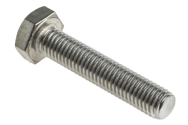 Product image for A2 s/steel hex head set screw,M10x50mm