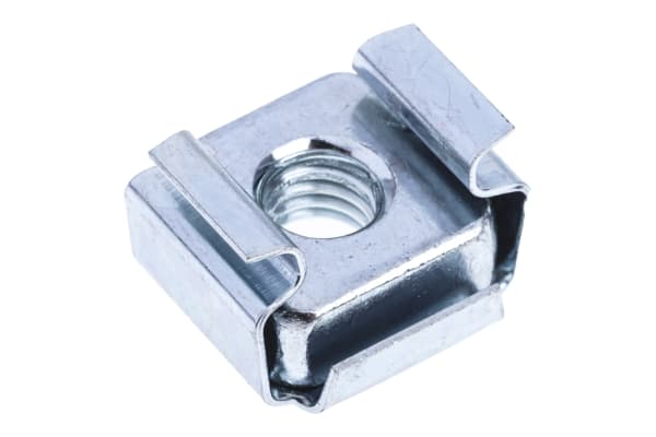 Product image for ZnPt steel narrow type caged nut,M5