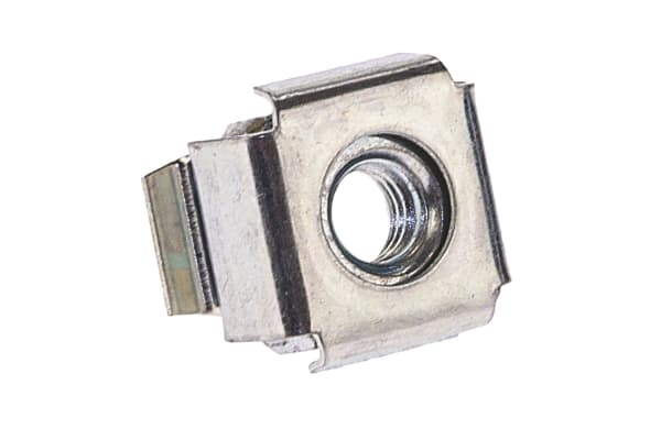 Product image for ZnPt steel wide type caged nut,M5