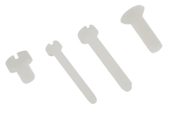 Product image for 600 piece nylon metric screw kit