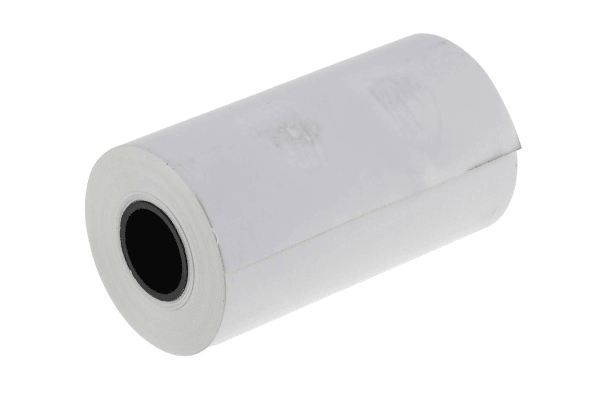 Product image for Thermal Paper, 58mm wide, 20pk