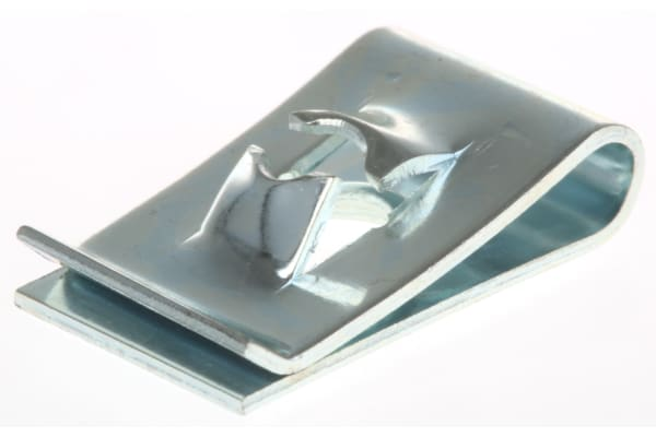 Product image for ZnPt steel self tapping captive nut,No10