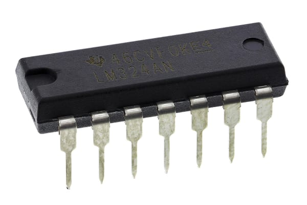 Product image for CMOS QUAD 2-INPUT NAND GATE CD4011BE
