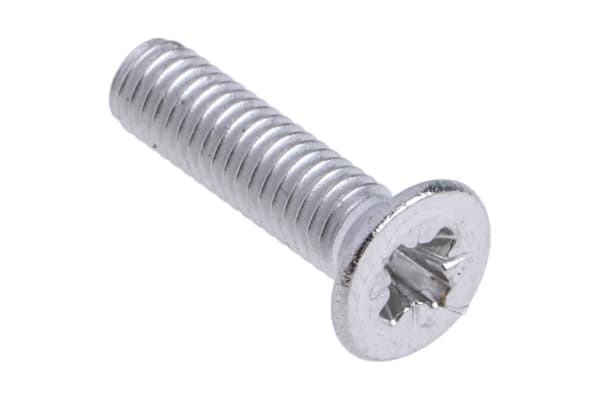 Product image for A2 s/steel cross csk head screw,M3x12mm