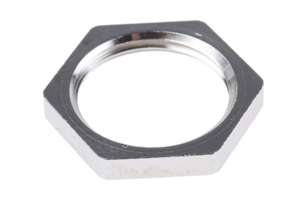 Product image for LOCKNUT METAL ISO20 NICKEL PLA