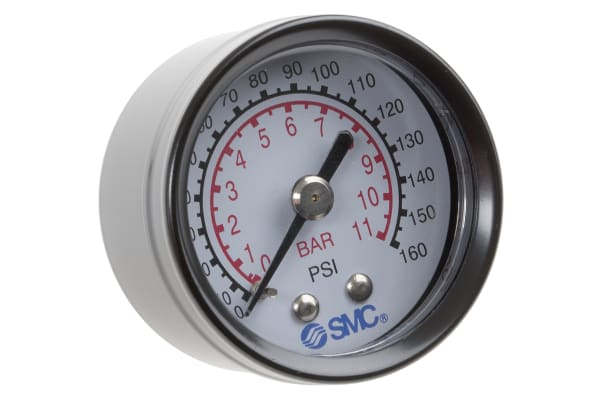 "Product image for Pressure gauge 40mm x 1/8"""" backmount"