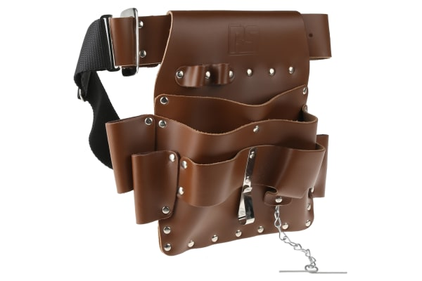 Product image for Light tan leather 1 tool holder w/belt
