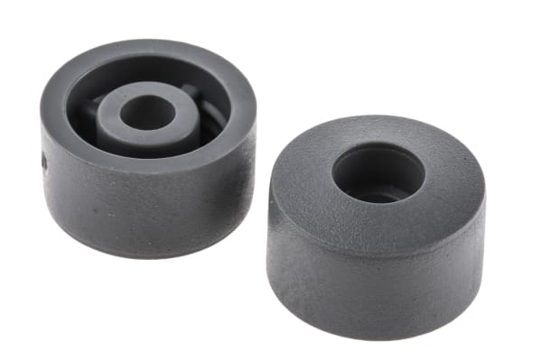 Product image for Gry screw fixing feet,15.5mm diax8.9mm H