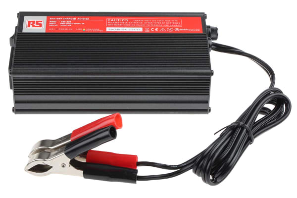 Product image for 12V 10A 3 Stage Lead Acid Charger