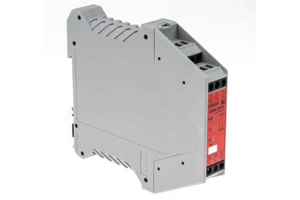 Product image for Safety Relay DPST-NO, auto-reset