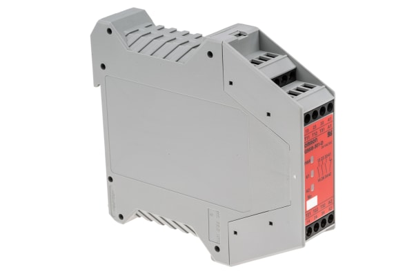 Product image for Safety Relay 3PST-NO, 1 NC manual-reset