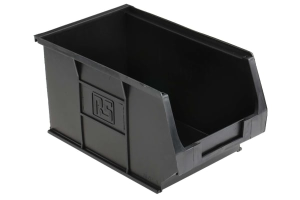 Product image for Antistatic storage bin,240x150x130mm