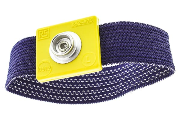Product image for 10mm stud large fixed fabric wrist band