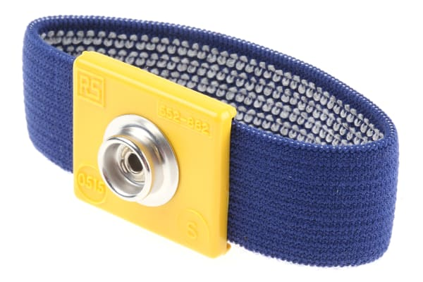 Product image for 10mm stud small fixed fabric wrist band