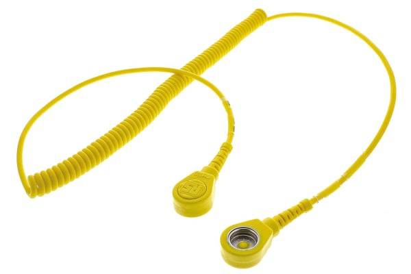 Product image for 10mm stud - stud cord,1.8m L 4meg coil