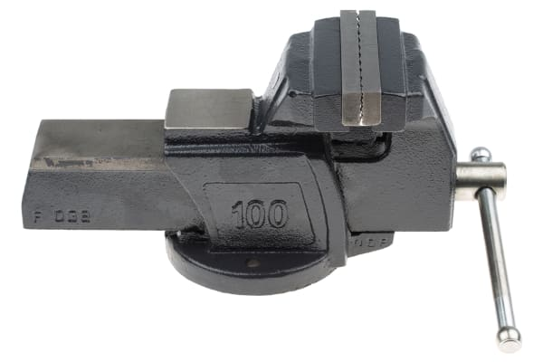 Product image for Vice,Bench Mounting, 4in Jaws