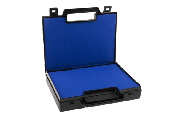 Product image for Black storage case & handle,220x160x40mm