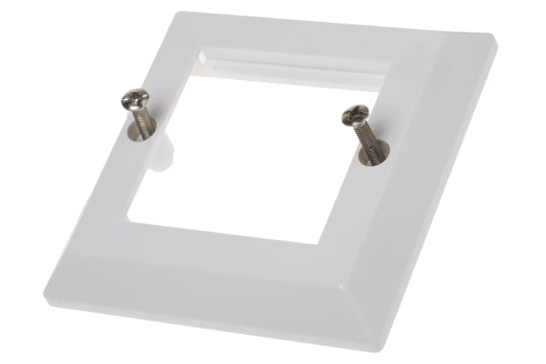 Product image for Bevelled Faceplate 86x86 2modules