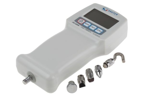 Product image for Sauter FK 500. Force Gauge 1000Hz, Range: 500N, Resolution: 0.2 N