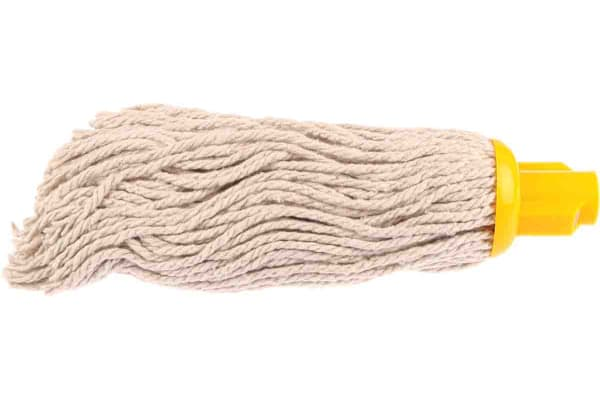 Product image for 12 oz Pure yarn mop head -yellow socket