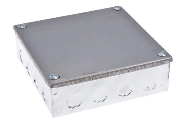 Product image for Adaptable Box 150x150x50mm Hot Dipped