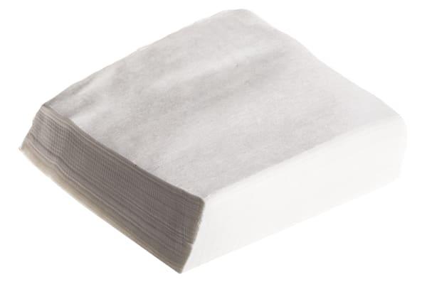Product image for Low lint lowstatic wipes,100 per box