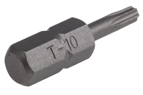 Product image for 1/4in hex drive Torx(R) bit,TX10x25mm