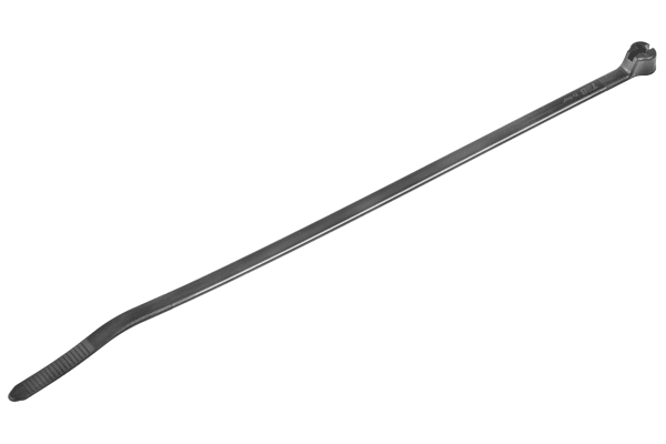 Product image for Thomas & Betts Black Cable Tie Nylon, 185.67mm x 4.57 mm