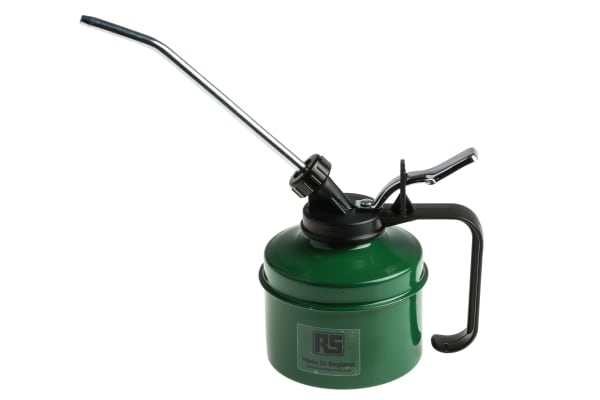Product image for Metal Green Oil Can + Nylon Pump 350cc