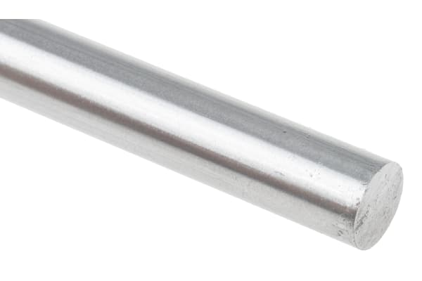 Product image for Silver steel rod stock,13in L 1/2in dia