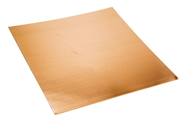 Product image for HDHC copper sheet stock,300x300x0.45mm