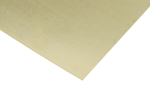 Product image for Brass shim stock,305x102mm 8 sheets