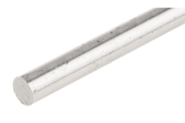 Product image for Silver steel rod stock,330mm L 8mm dia