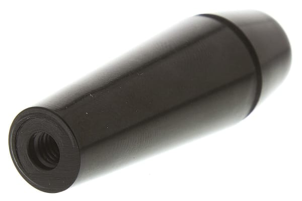 Product image for PHENOLIC TAPERED HANDLE, F, M6X9MM,60MM