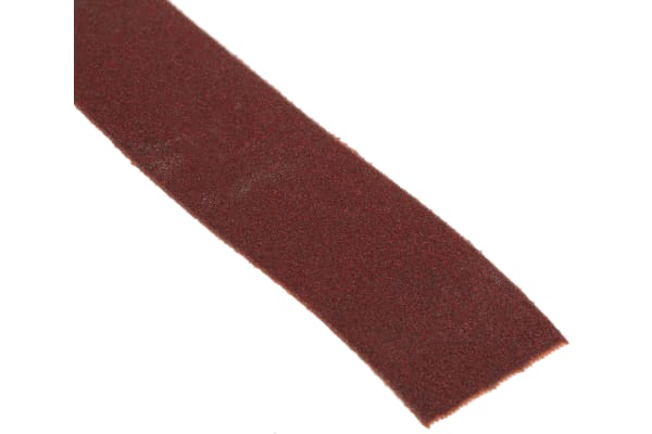 Product image for Norton P120 Fine Sandpaper Roll, 25m x 25mm