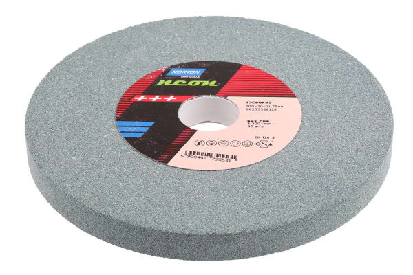 Product image for SILICON CARBIDE GRIND WHEEL,200MM MEDIUM
