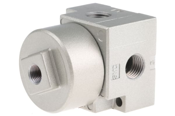 Product image for 1/4in 3/2 poppet pilot/spring valve