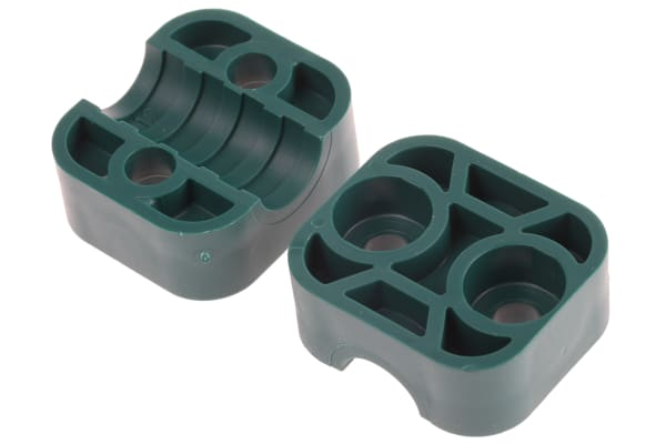 Product image for Hydraulic single tube clamp,12mm OD tube