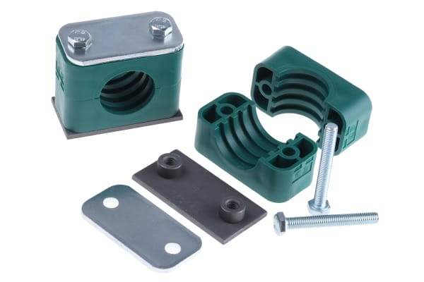 Product image for Hydraulic single tube clamp,28mm OD tube