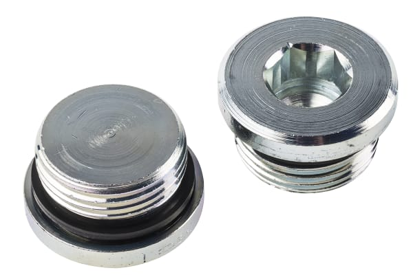 Product image for G1 zinc plated steel blanking plug
