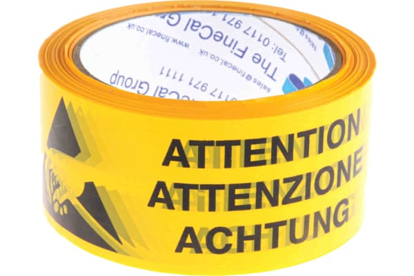 Product image for PVC antistatic packaging tape,66mx50mm