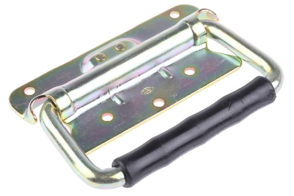 Product image for ZnPt steel heavy duty fold down handle