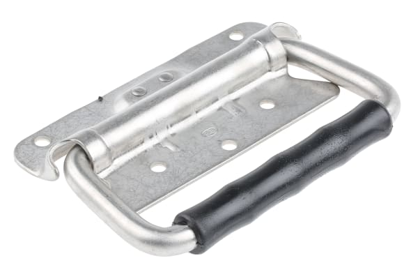 Product image for S/steel heavy duty fold down handle